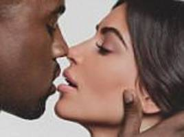 Kim Kardashian shares close-up kissing photo with Kanye West ahead of four-year wedding anniversary