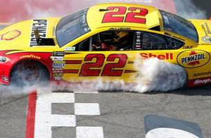 joey logano returns to the site of his last 'encumbered' victory