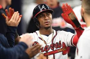 rookie ozzie albies is having a major impact on the atlanta braves