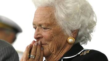 barbara bush funeral: 1,500 people attend service in texas
