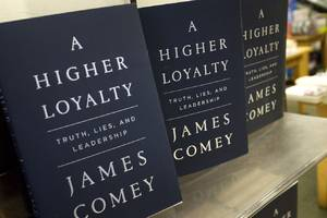 Amazon won't let users review James Comey's new book if they didn't purchase it through the site