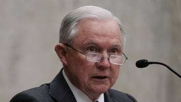 sessions reportedly said he might quit if rosenstein were fired