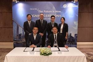 envision partners with singapore leading companies