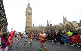 how the london marathon compares to the other majors