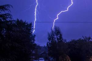 This is exactly when thunderstorms are set to hit Birmingham today