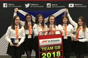 secondary school team through to f1 world finals in singapore launch fundraising campaign