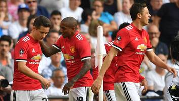 Manchester United 2-1 Tottenham: Sanchez & Hererra Book Man Utd's Place in FA Cup Final in Spurs Win