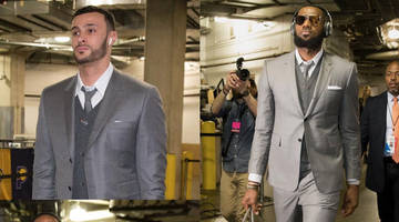 Twitter Is Roasting the Cavaliers for Showing Up in Matching Suits And Blowing a 17-Point Lead