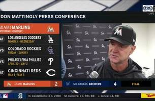 Don Mattingly says the Marlins' mistakes have been frustrating