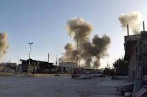syria chemical attack: experts visit site of suspected attack near damascus