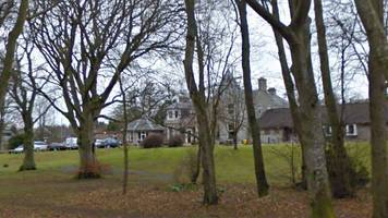 large fire at disused care home in port elphinstone