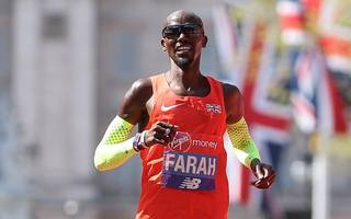 farah encouraged by podium finish at london marathon