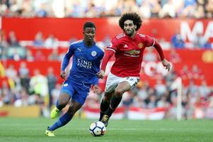 Leicester City linked to Manchester United's Marouane Fellaini