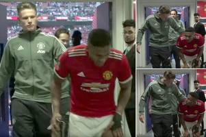 manchester united fans praise scott mctominay for what he said to antonio valencia in wembley tunnel