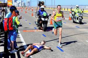 Vile online trolls target Gold Coast marathon champion for passing injured Team Scotland runner Callum Hawkins
