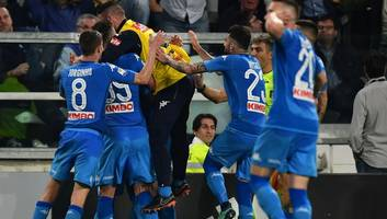 Juventus 0-1 Napoli: Dramatic Stoppage Time Winner Keeps Visitors Title Race Alive