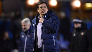 sunderland manager chris coleman reveals that his players didn't know they were relegated after loss
