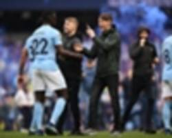 Man City escape action over pitch invasion