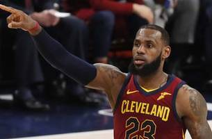 shannon sharpe reacts to lebron leading the cavs to game 4 win over indiana