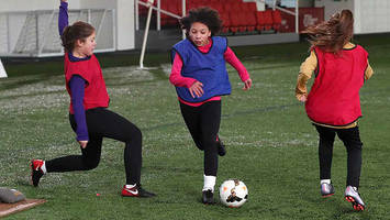 girls' football week 2018: fa initiative returns to inspire girls to play football