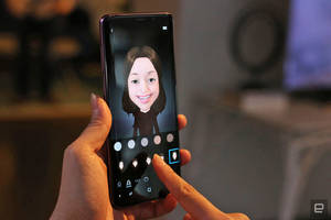 Samsung could use AR Emoji as stand-ins during video chats
