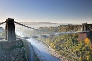 Clifton Suspension Bridge set to close to traffic and cyclists for four days