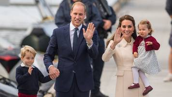Duchess of Cambridge in early stages of labour