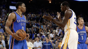 kevin durant likes instagram comment calling russell westbrook 'the problem'