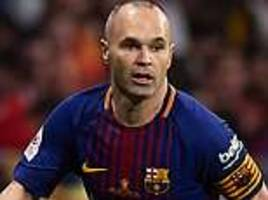 pep guardiola will try and tempt andres iniesta to manchester city