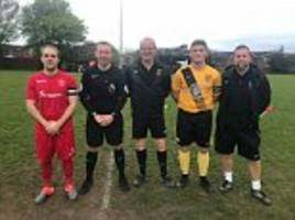 premier league referee steps in to save the day by officiating united counties league reserve game