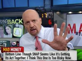 jim cramer has done a complete 180 on snap (snap)