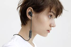urbanears' jakan neckbuds are fully controlled by a single button