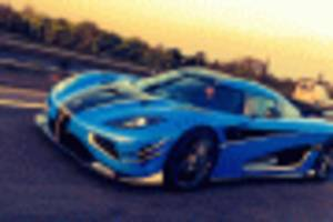 koenigsegg agera rs hits 242 mph in just 1.3 miles