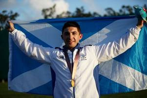 castle douglas shooter david mcmath's commonwealth games gold recognised at holyrood