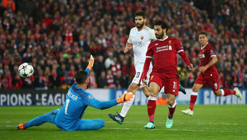 Twitter Bows Down As Mohamed Salah Produces One of the Great Champions League Performances vs Roma