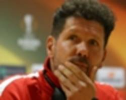 Simeone distances himself from replacing Wenger at Arsenal