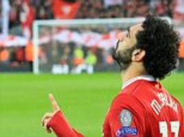 mo salah has outscored cristiano ronaldo and lionel messi's this season he should win ballon d'or