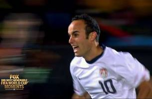 50th most memorable fifa world cup moment: landon donovan at the death