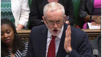 windrush: corbyn urges review of 'cruel' immigration policy