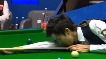 world snooker championship 2018: un-nooh fails in 147 attempt