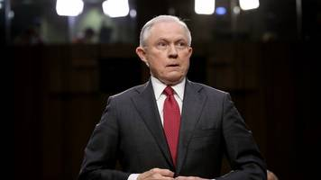 ag jeff sessions won't say if he's recused from cohen probe