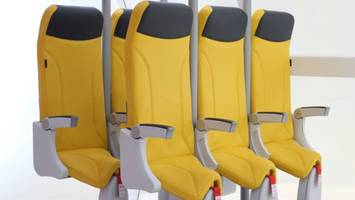 These standing seats are the plane travel of the grim future
