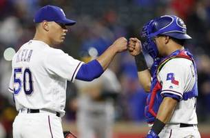 Rangers close out Oakland 4-2, end A's 4-game win streak