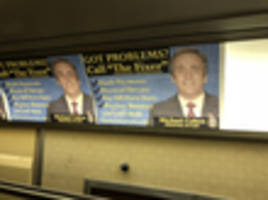 Michael Cohen Gets The Crappy Subway Ads He Deserves