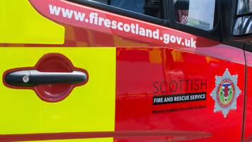 firefighters tackle three-mile wildfire in aboyne