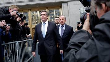 a lot of people want to review the michael cohen raid documents