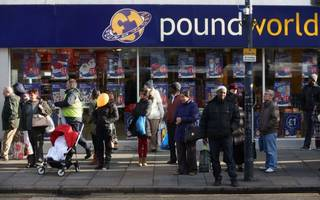 poundworld to close as many as 100 stores