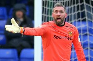 hull city goalkeeper allan mcgregor to sign for rangers today?