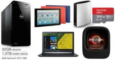 ET Deals: Amazon Fire HD 10 Tablet One-Day Sale for $100, 200GB Class 10 MicroSDXC Card for $56, and more