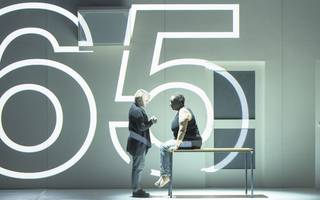 this operatic adaptation of 4.48 psychosis is as magnificent as it is ugly